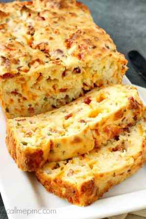 Bacon Jalapeno Popper Cheesy Bread featured from Call Me PMc
