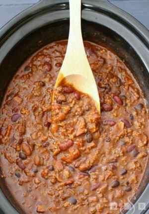 Bold Three-Meat Chili
