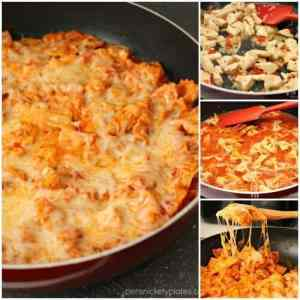 Cheesy Chicken Skillet Pasta Facebook