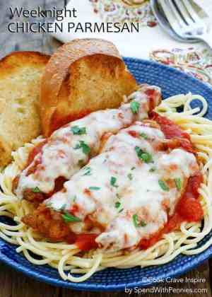 Weeknight Chicken Parmesan