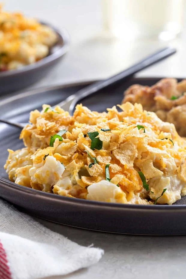 Hash Brown Casserole comes together in less than 10 minutes with just a few simple ingredients. It's the perfect side dish for potlucks, barbecues, and even brunch.