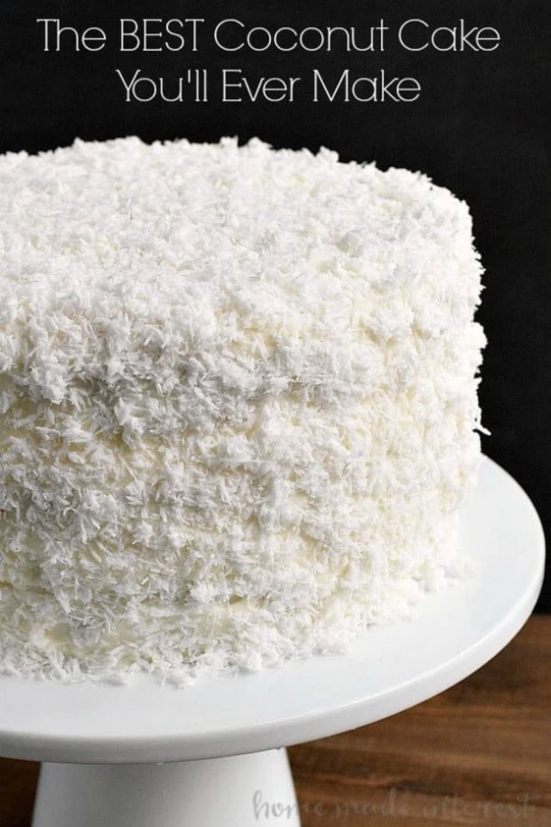 THE BEST COCONUT CAKE YOU'LL EVER MAKE--31+ COCONUT DESSERTS THAT WILL SATISFY YOUR SWEET TOOTH!
