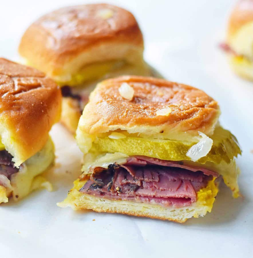 These sliders are perfecr for any game day party!