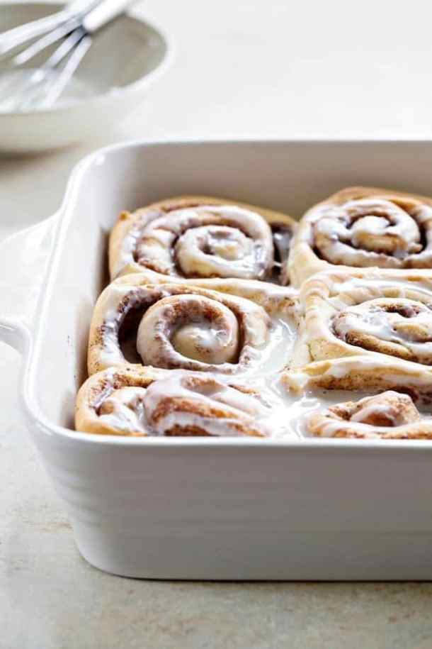 6. Overnight Chai Spice Sweet Rolls-- Part of 30 The Best Breakfast Sweet Rolls Recipes