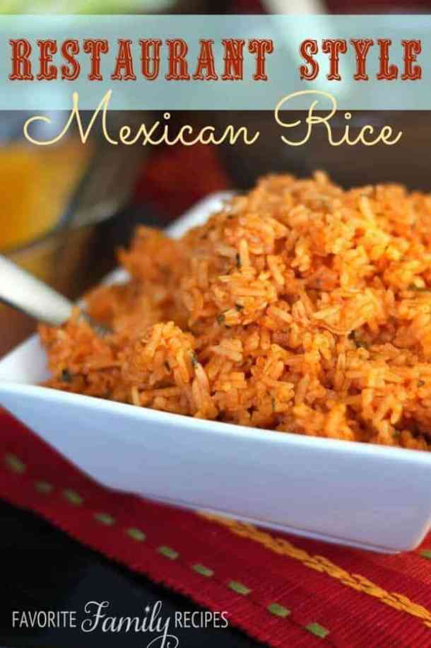 Restaurant Style Mexican Rice The Best Blog Recipes