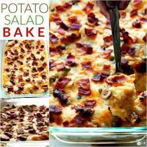 Potato Salad Bake