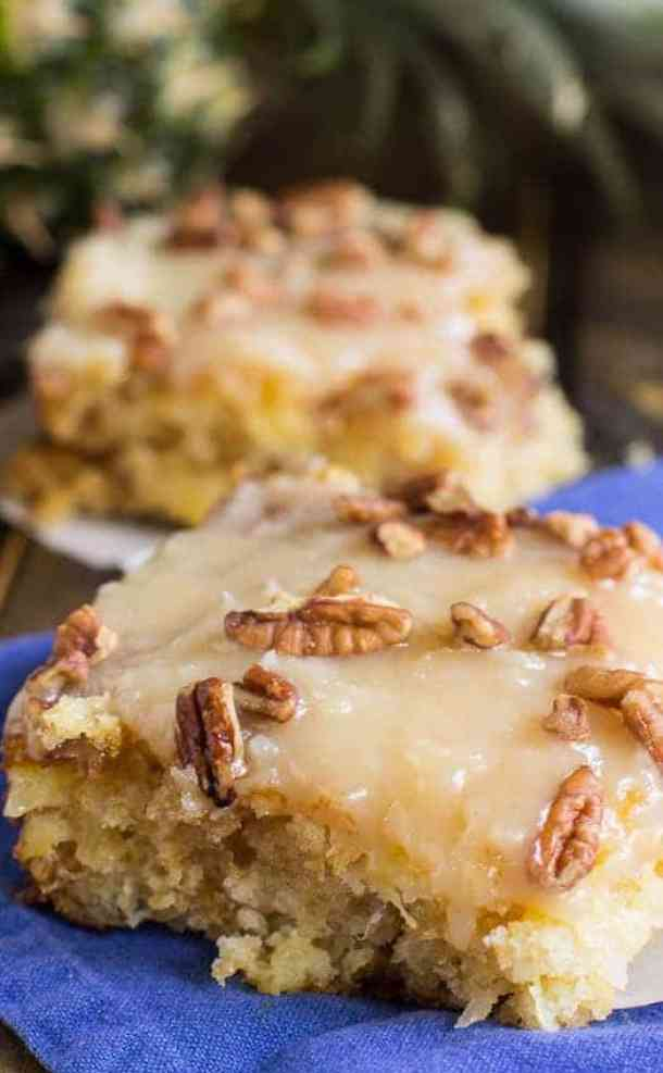 Pineapple Sheet Cake Recipe-- Part of 30 Pineapple Recipes for your Sweet Summertime Cravings