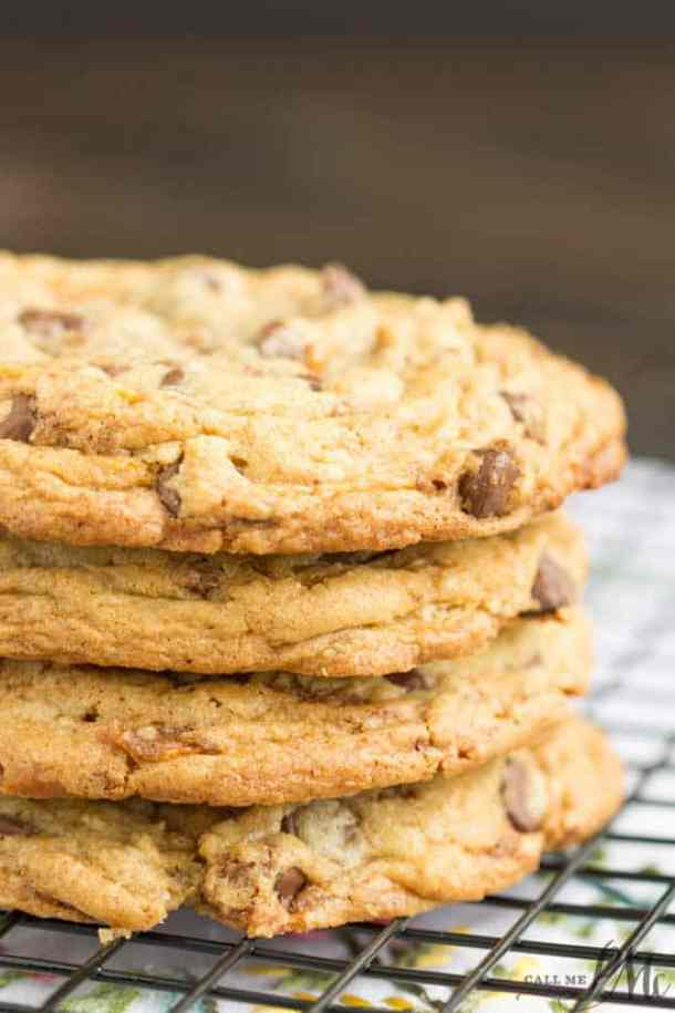 Loaded Butterfinger Chocolate Chip Toffee Cookies -- Part of The Best Butterfinger Recipes