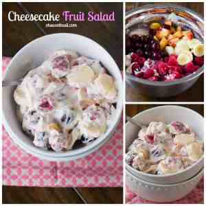Berry Cheesecake Fruit Salad