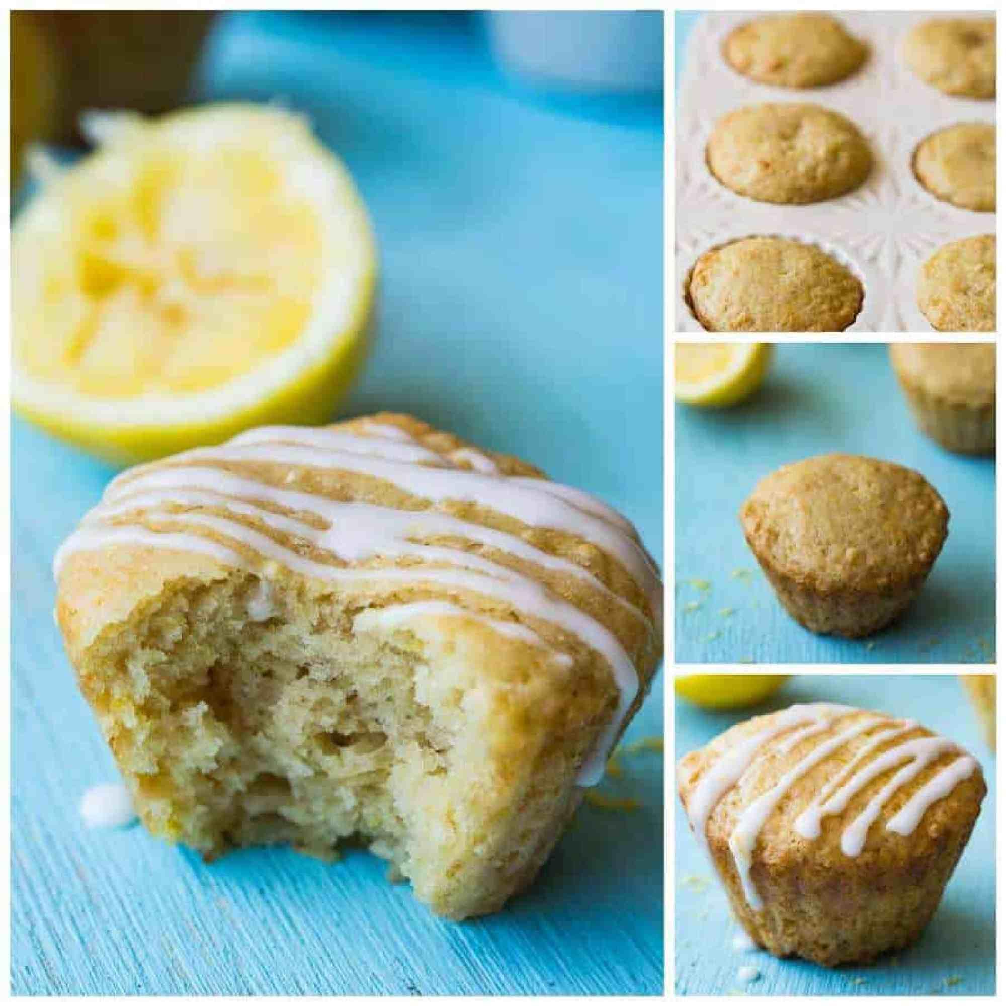 Healthier Lemon Muffins