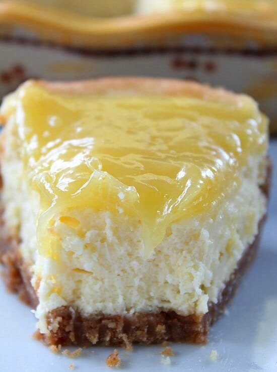 Luscious Lemon Cheesecake