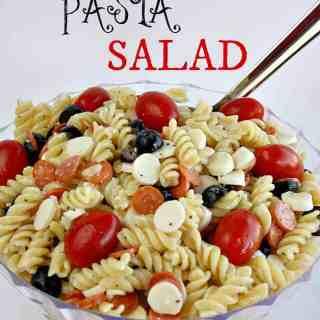 Easy Pizza Pasta Salad