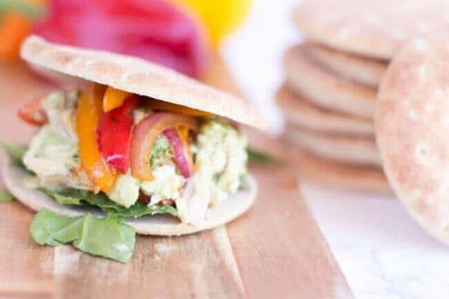 Fajita Chicken Sandwich