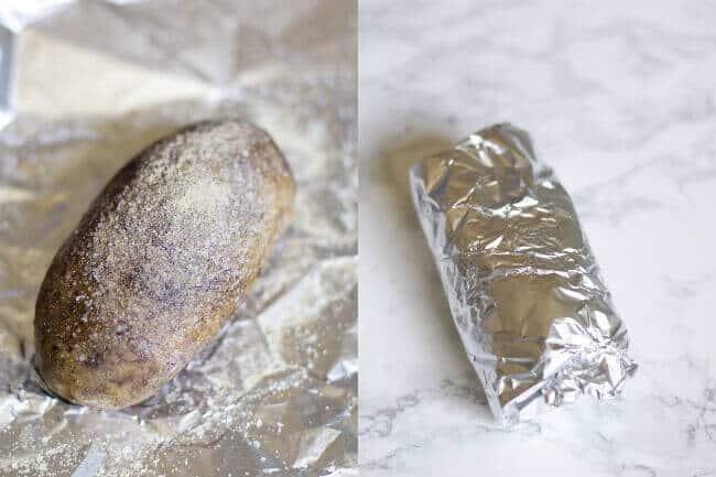 Easy Pulled Pork Baked Potatoes