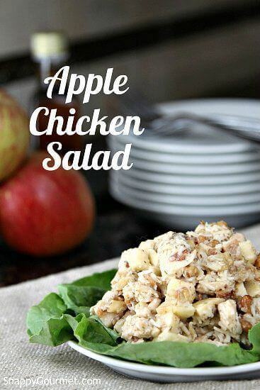 10 Apple Chicken Salad