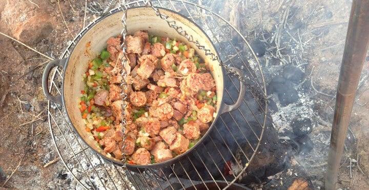 11 Campfire Jambalaya