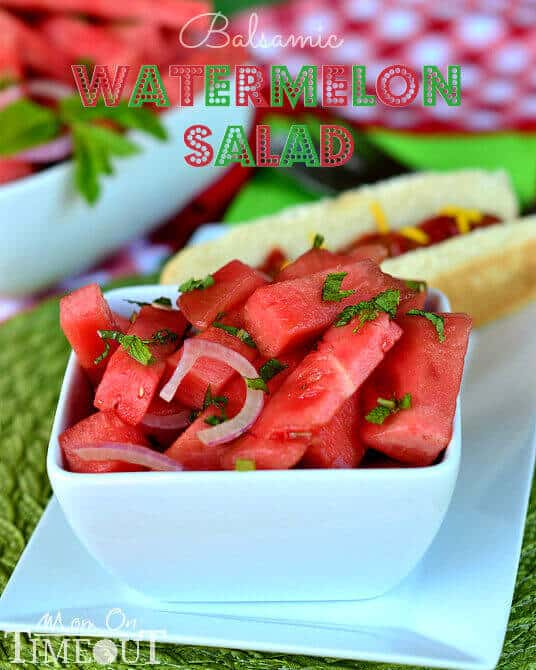 17 Balsamic Watermelon Salad