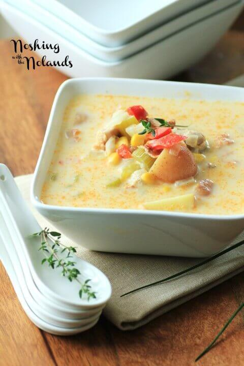 18 Summer Chicken Corn Chowder