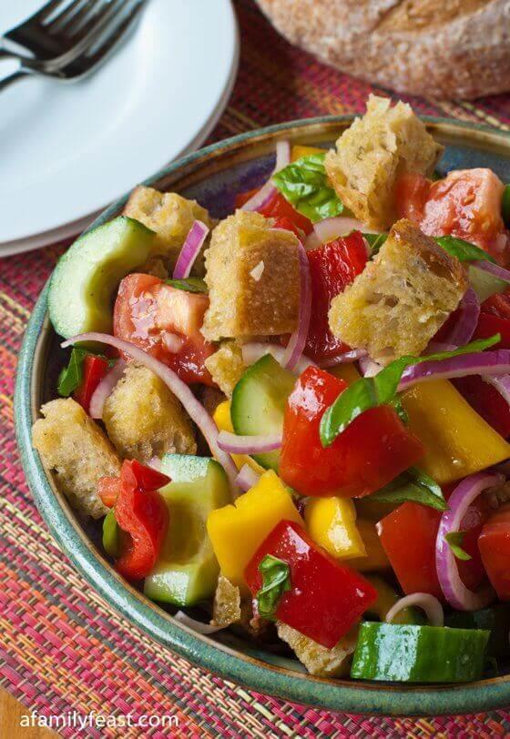 22 Panzanella (Bread Salad)