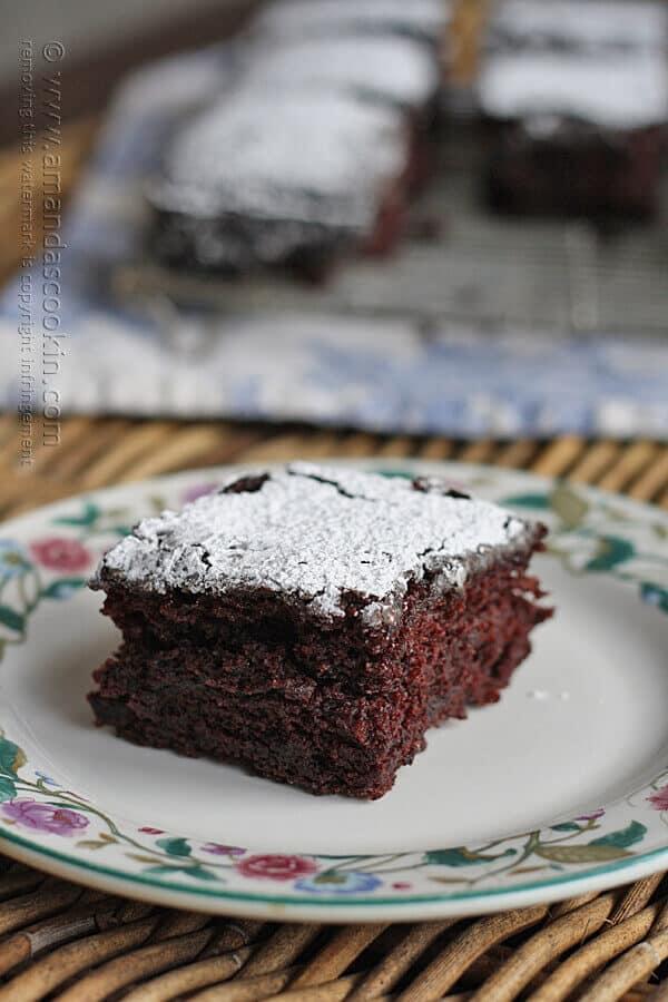4 Vintage Recipe Wacky Cake