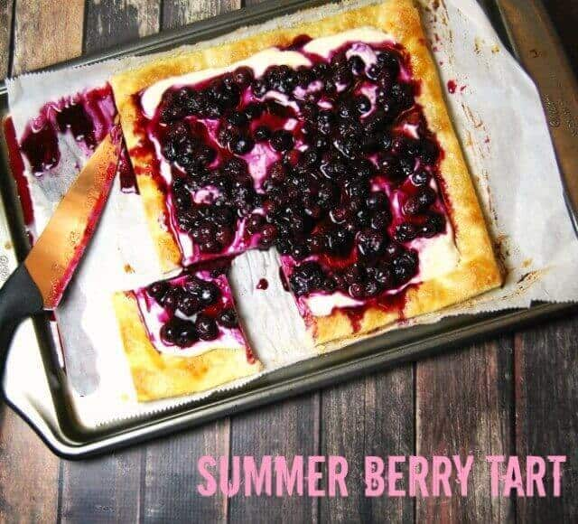 5 Summer Berry Tart