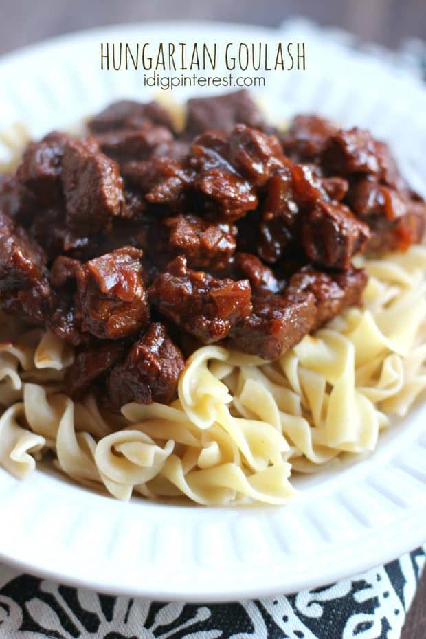 Old Fashioned Goulash - The Best Blog Recipes