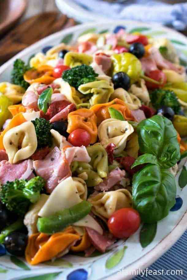 Italian Tortellini Salad -- part of The Best Picnic and Potluck Recipes
