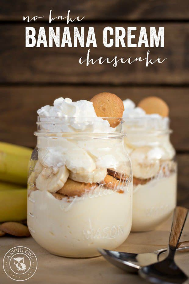 Delicious and decadent, you can never go wrong with a Banana Cream Pie!