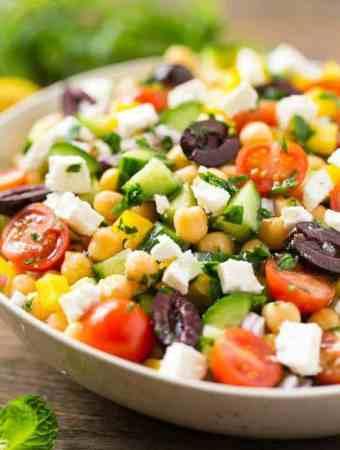 Chopped Greek Salad