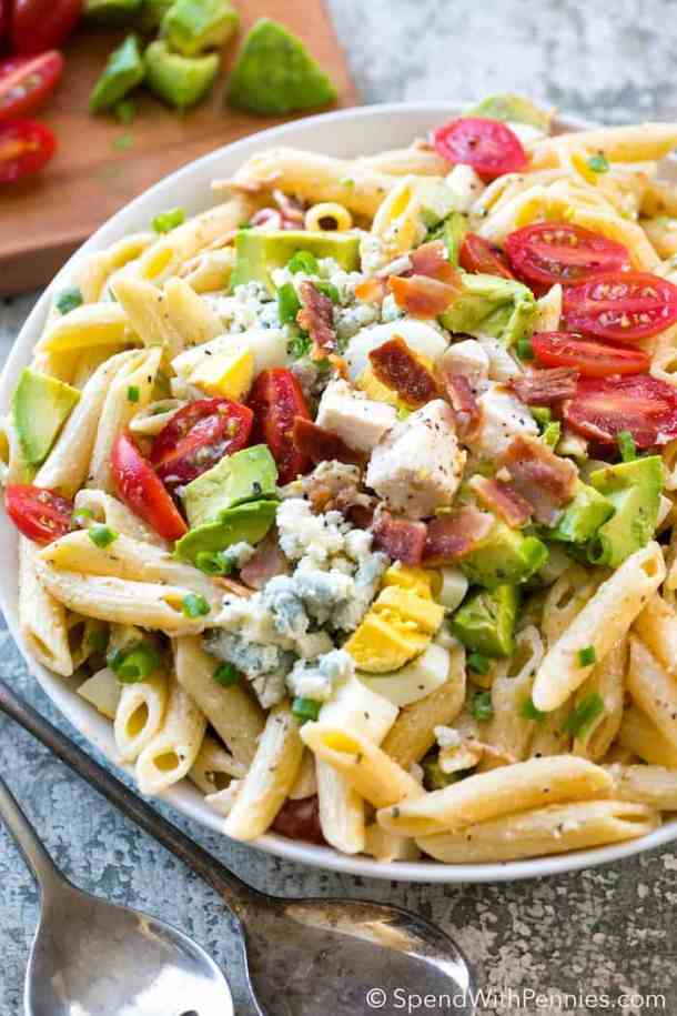 Cobb Pasta Salad -- part of The Best Picnic and Potluck Recipes