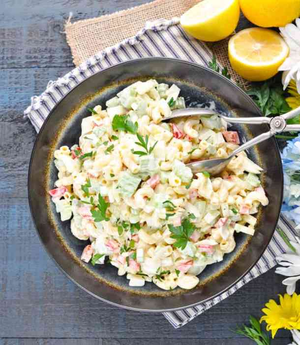 Classic Southern Macaroni Salad -- part of The Best Picnic and Potluck Recipes