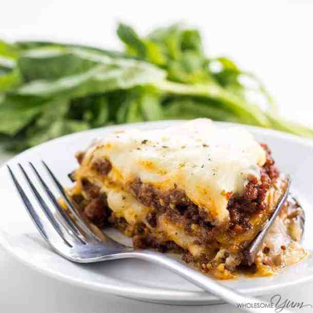 Eggplant Lasagna--Part of The Best Lasagna Recipes