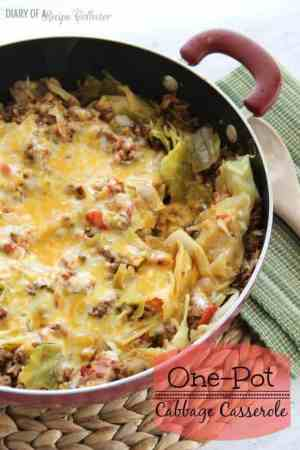 One Pot Cabbage Casserole