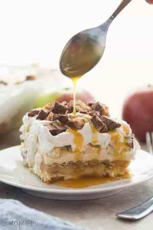 Snickers Apple Icebox Cake