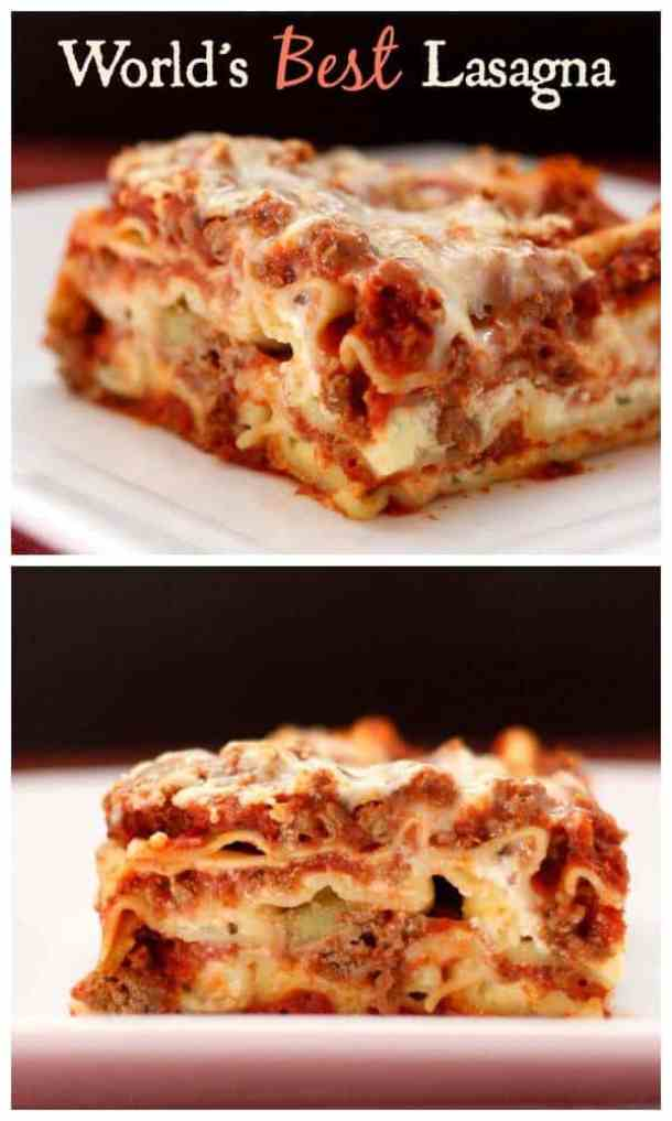 Worlds Best Lasagna--Part of The Best Lasagna Recipes