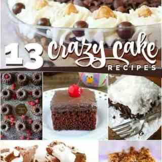 13 Crazy Awesome Crazy Cake Recipes