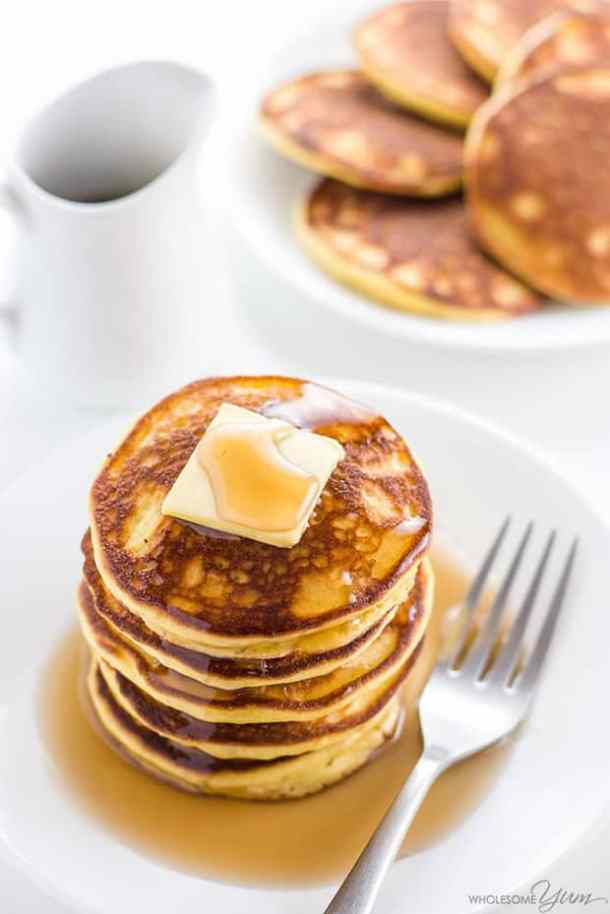 Keto Low Carb Pancakes-- Part of THE BEST PANCAKE RECIPES