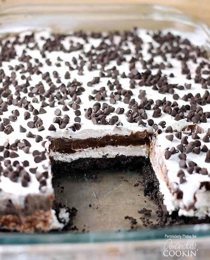 Chocolate Lasagna