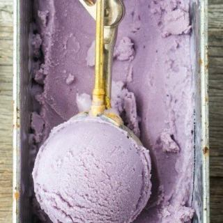 Concord Grape Frozen Yogurt