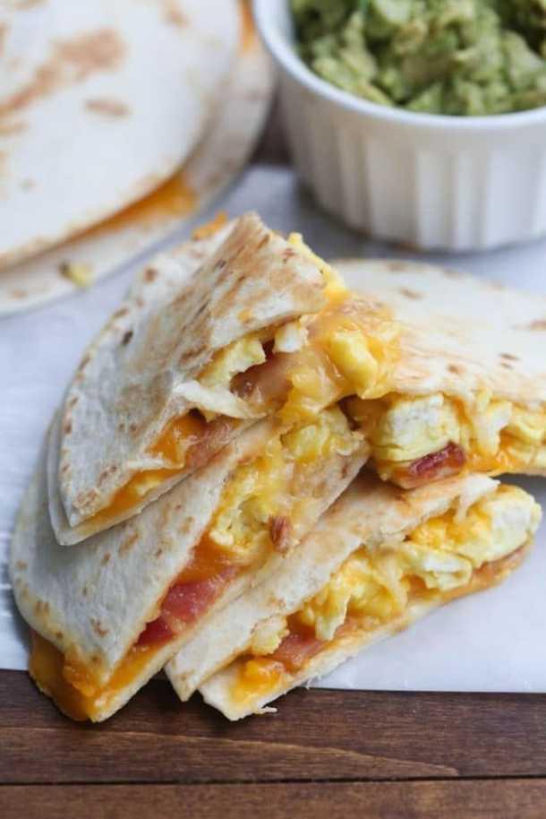 Breakfast Quesadillas--Part of THe Best Quesadillas Recipes