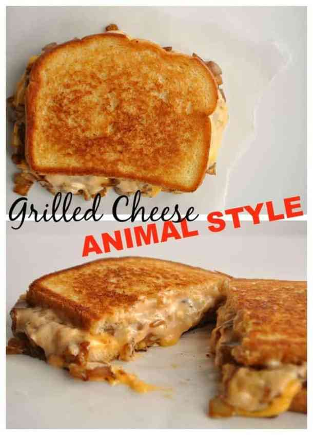 7 Grilled Cheese Animal Style