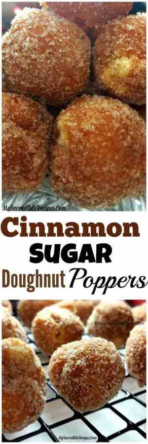 Cinnamon Sugar Doughnut Holes
