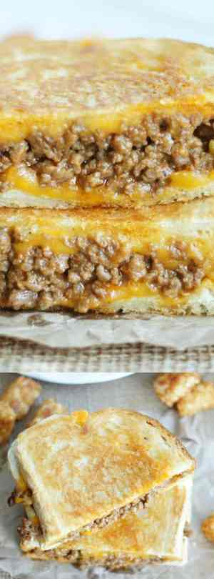 Grilled Cheese Sloppy Joe Long Pin 1