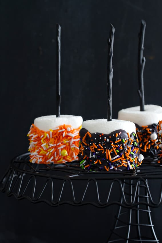 Halloween Marshmallow Pops The Best Blog Recipes