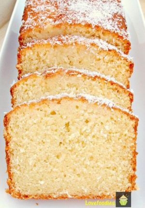 Moist Coconut Load Pound Cake
