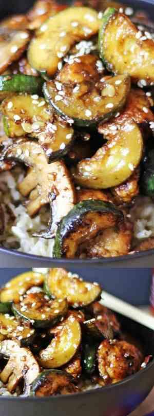 Panda Express Zucchini Mushroom Chicken