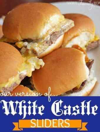 White Castle Sliders