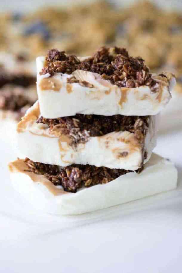 Peanut Butter Yogurt Bark