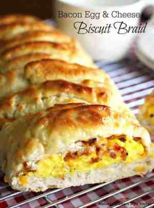 Bacon, Egg, and Cheese Biscuit