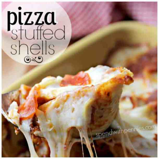 Pizza Stuffed Shells